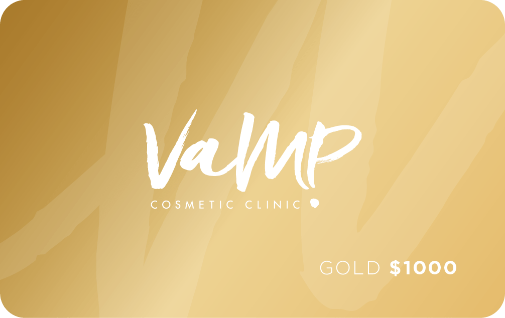 Gold Gift Card Laser Clinic Newcastle NSW