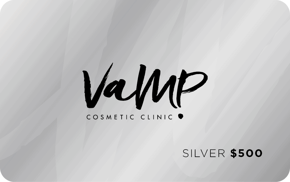Silver Gift Card Cosmetic Clinic Newcastle NSW